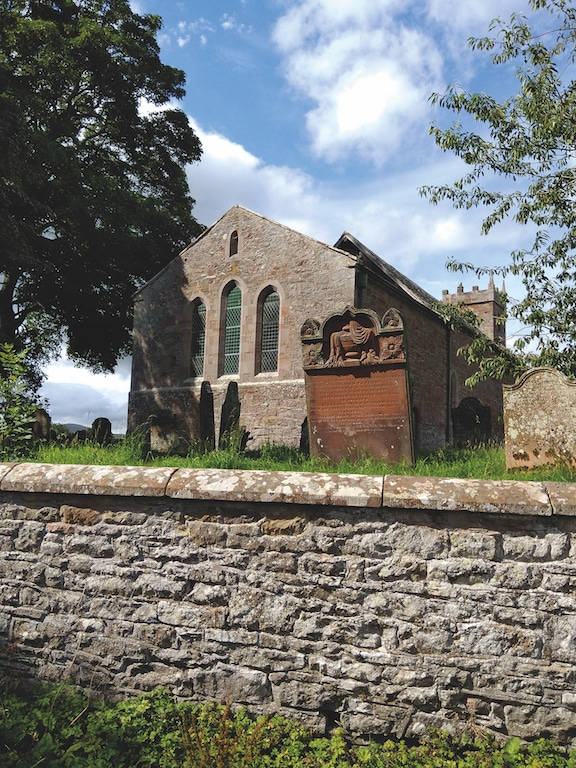 John Harrington took this photo of St Mary's Church, Sebergham, while visiting gravestones for family history research.