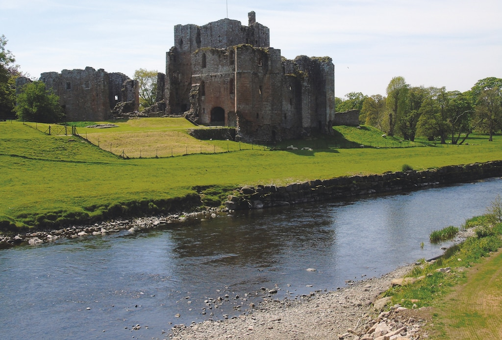 Brougham Castle by Adrian Waite, of Appleby.