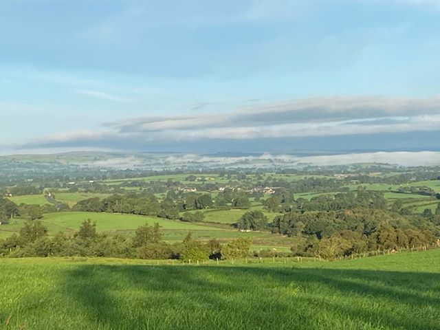 Hannah Pedley has captured a view over the Eden Valley, between Kaber and Barras
