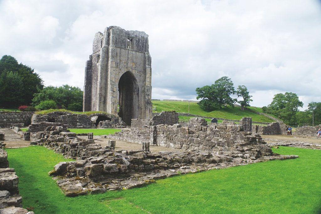 Shap Abbey, photographed by Penrith resident Ron Kenyon.