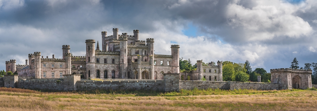 Lowther Castle by Fine Light Images