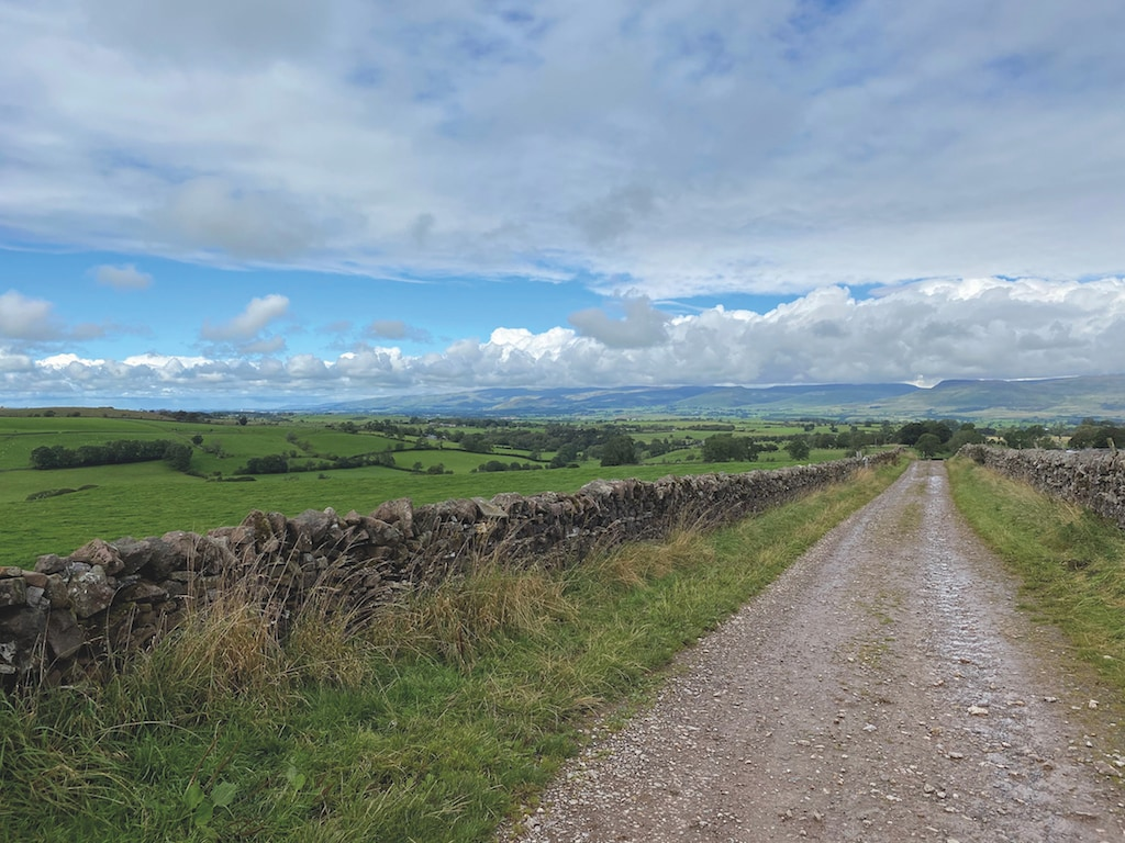 Potts Lane between Little Asby and Crosby Garrett looking towards the Northern Pennines and the Eden Valley from Nicola Brass