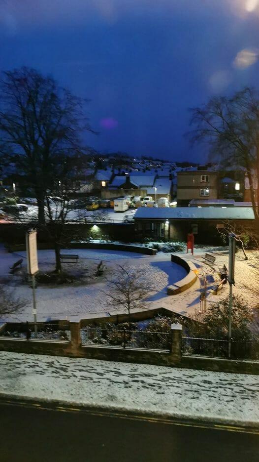 Snow in Penrith