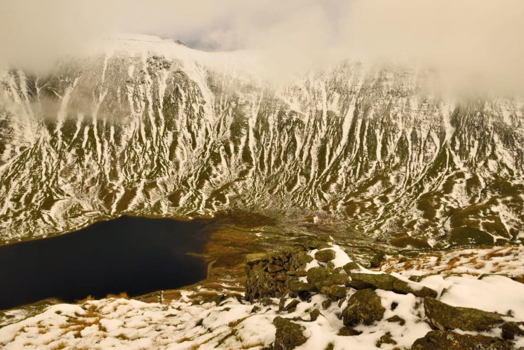Above Hayeswater, taken by Andy Powell.