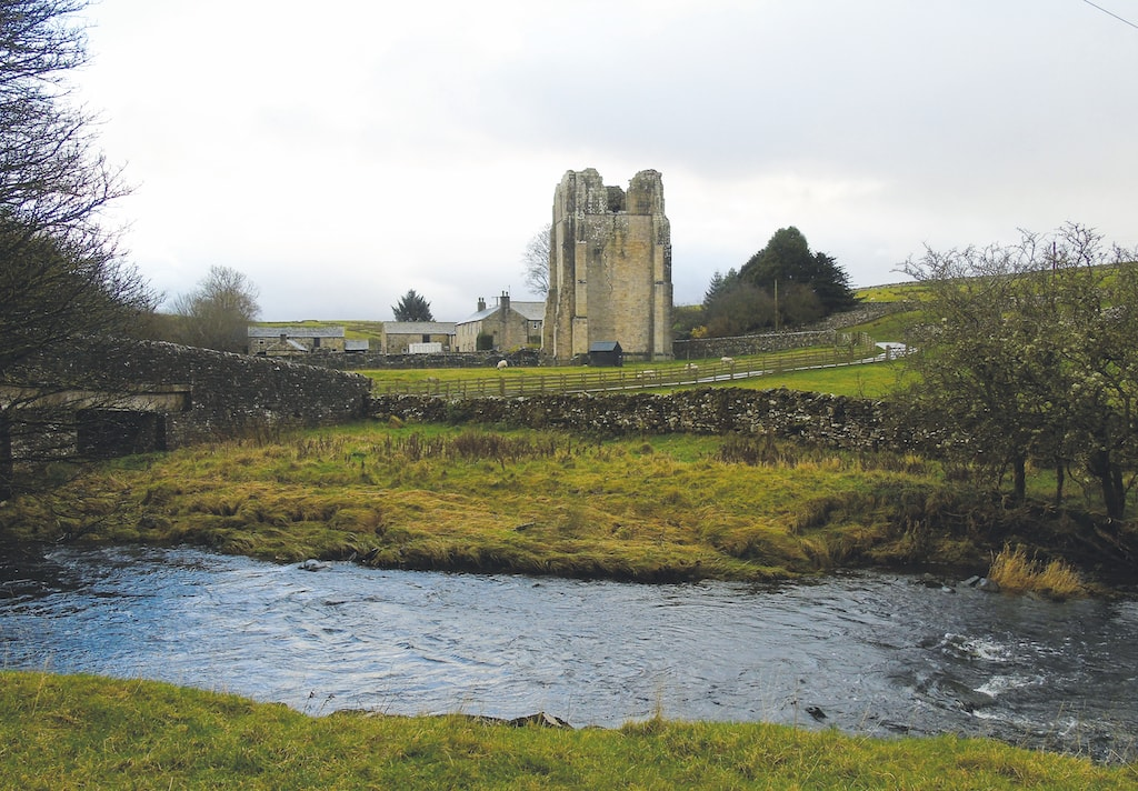 Adrian Waite took this lovely image of Shap Abbey.