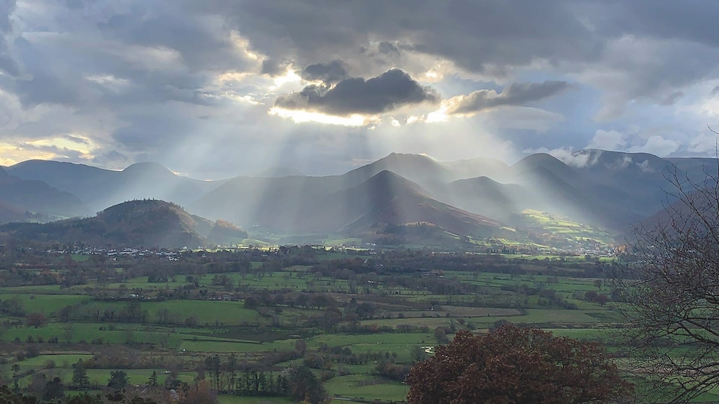 This spectacular view towards Coledale from Applethwaite was captured by Chris Barker, of Applethwaite.