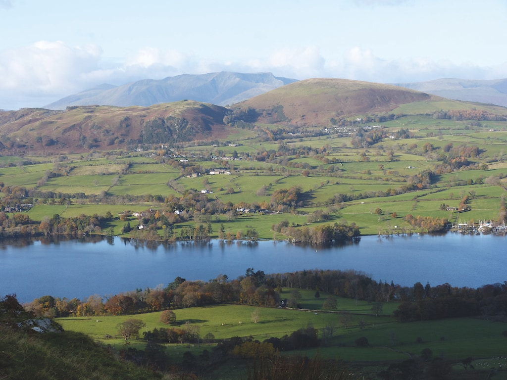 Ullswater and Blencathra are pictured from half way up Arthurs Pike in this cracking shot by Mark Osborne.