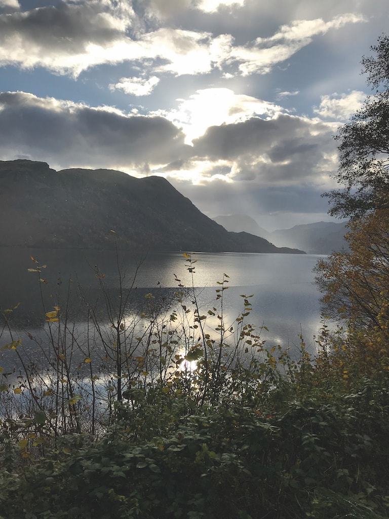 Looking over Ullswater early one afternoon, Jonty Moffat, of Penrith, took this lovely shot.
