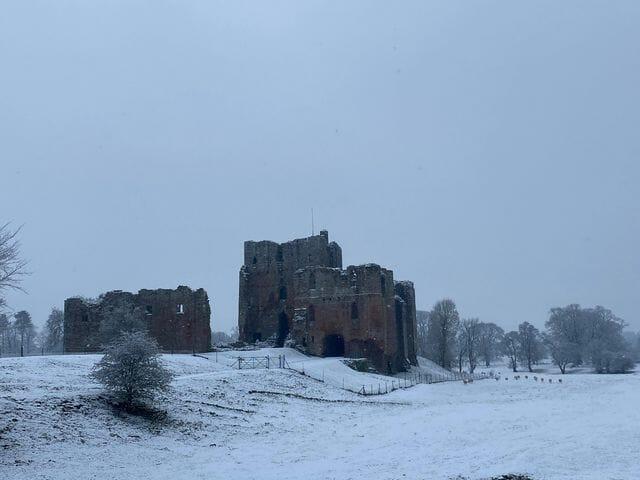 Brougham Castle by Jenny Beattie