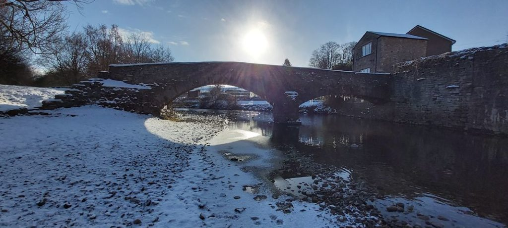 Franks Bridge, Brough, by Sam Sykes