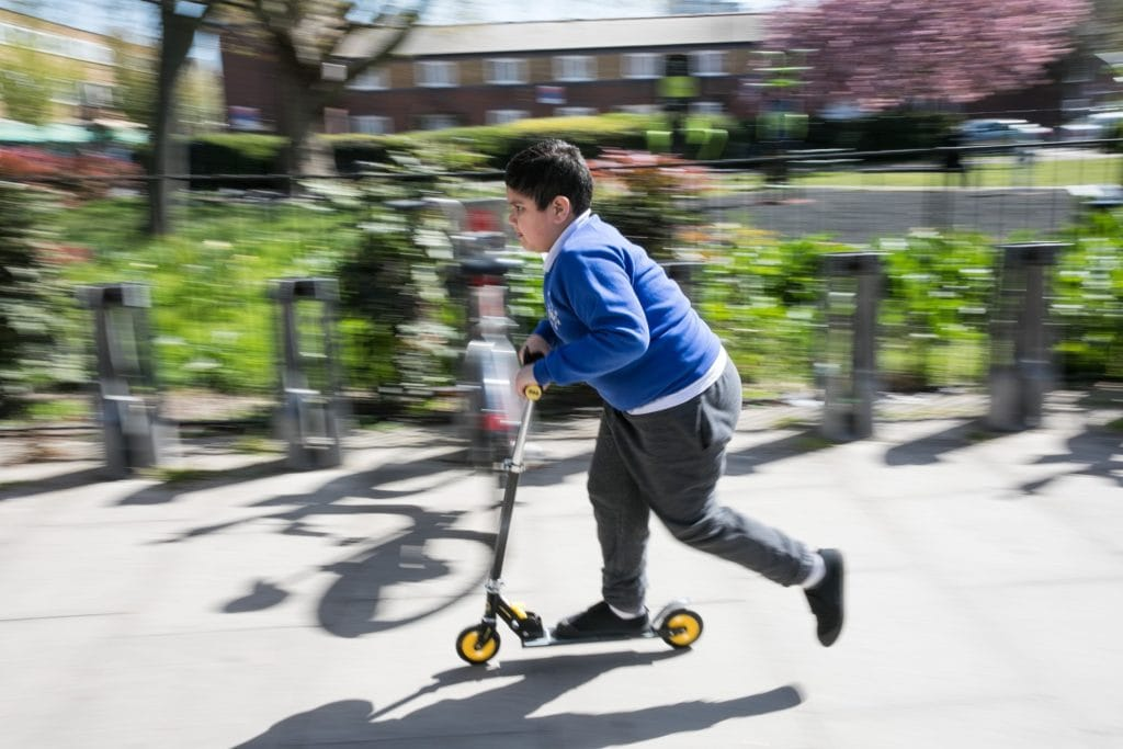 Children in Cumbria completed 10,000 active journeys to school on foot, scooter or bicycle as part of the UK's largest journey to school challenge.