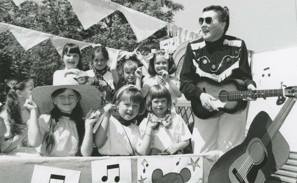 Elvis at Kirkby Stephen in 1996