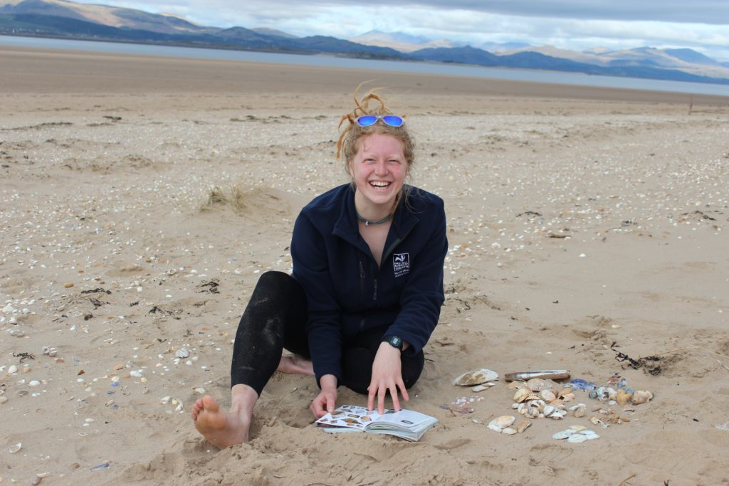 Lucy Mather at Sandscale Hawes on the Duddon Estuary, Cumbria. She has been appointed a new champion for local sustainable seafood. Picture: Cumbria Wildlife Trust