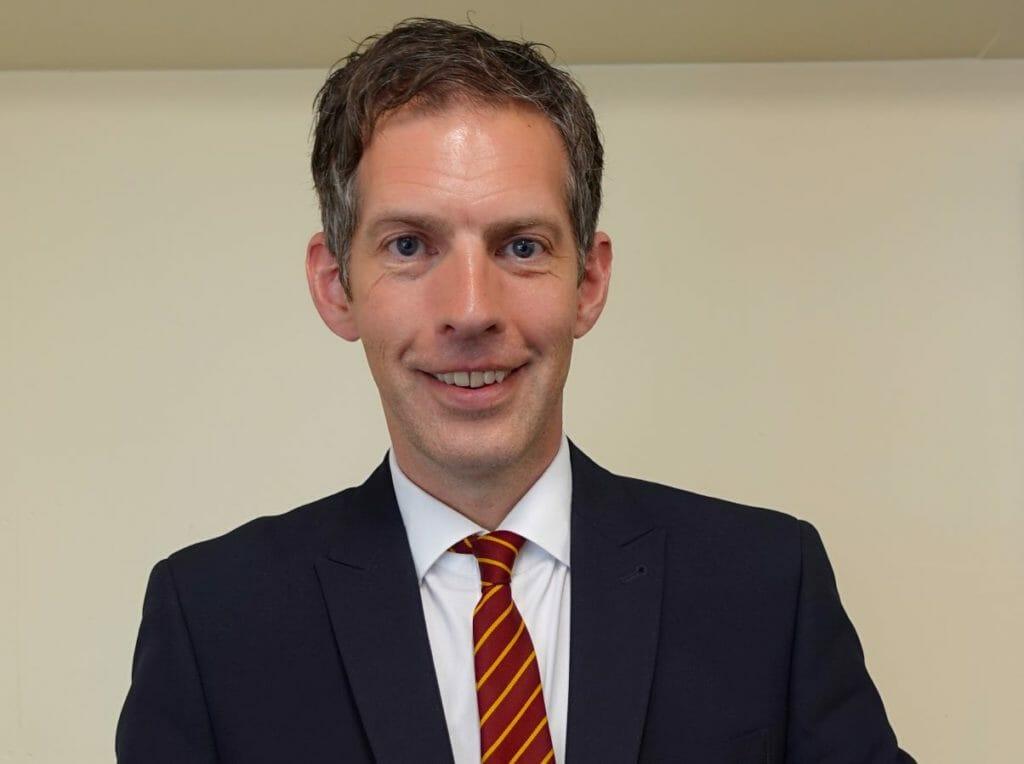 Mark Bailey deputy head of  Netherhall School